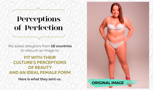 What The 'Ideal' Woman's Body Looks Like In 18 Countries