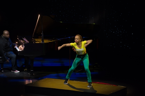 Camille A. Brown's BLACK GIRL:LINGUISTIC PLAY presented at the Joyce Theater