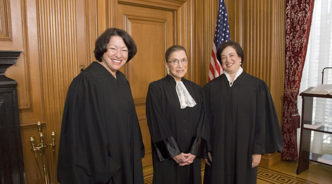 Why representation is so important: Our U.S. Female Justices are protecting our reproductive rights in Texas